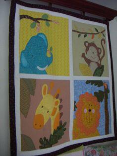 panel cuarto bebe