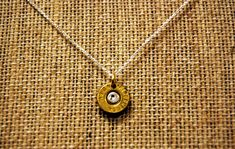 Each piece of the unique jewelry incorporates a bullet casing or shotgun shell into the design. Each piece is hand-crafted right here in Georgia!