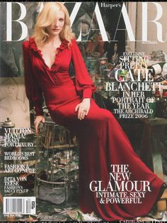 Cate Blanchett - Harper's Bazaar Abril 2006