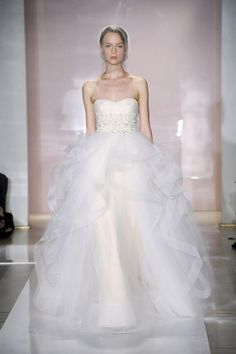 Love the added texture to the ball gown