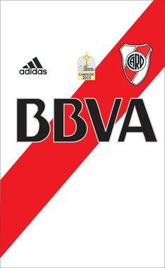 River Plate of Argentina wallpaper. Soccer Kits, Football Kits, Football Jerseys, Team Wallpaper, Football Wallpaper, Nottingham Forest, Carp, Backgrounds, Borussia Dortmund
