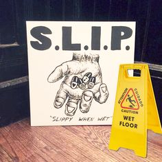 "S.L.I.P. - Slippy When Wet 12"" LP (Sorry State Records)"