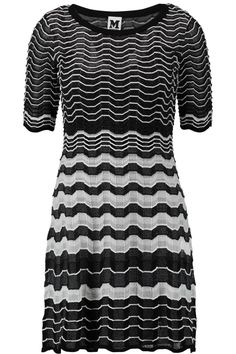 Shop on-sale M Missoni Crochet-knit mini dress. Browse other discount  designer