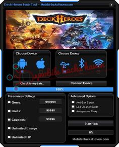 Deck Heroes Hack Cheats
