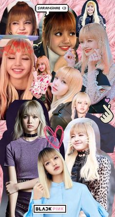 Lisa Blackpink collage