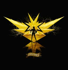 New Fan Art Created by Dan Elijah Farjado | Team Instinct : pokemongo
