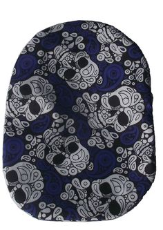 Stoma Cover Wild - Blue with Skull Little Bag, 1 Piece, Printing On Fabric, Skull, Kids Rugs, Cover, Cotton, Blue, Products
