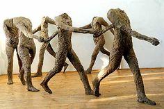 Polish Sculptor, Magdalena Abakanowicz. | Islandlass's Weblog