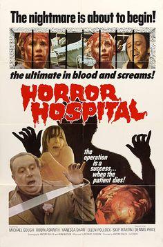 Computer Killers (1973) Horror Hospital (original title) Stars: Michael Gough, Robin Askwith, Vanessa Shaw, Dennis Price, Ellen Pollock ~ Director: Antony Balch