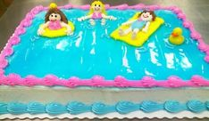 Pool Party Cakes - Swimming Pool Cakes