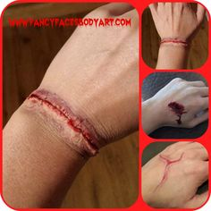 SCARS : CUTS : WOUNDS : HOW TO DO SPECIAL EFFECTS MAKEUP