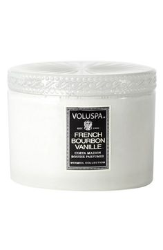 Voluspa 'Vermeil - French Bourbon Vanille' Candle available at #Nordstrom