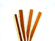 Vintage Engineer Rulers Vintage Keuffel and by PaperWoodVintage, $27.00