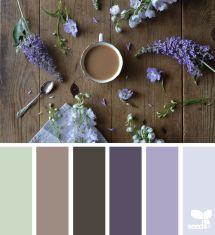 lavender color palette - Design Seeds/@grainandfeather