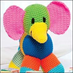 Rainbow elephant
