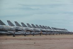Convair B-58 Bombers in the Boneyard