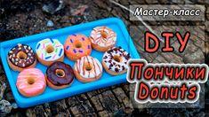 Миниатюра: ПОНЧИКИ из полимерной глины ❤ Мастер-класс ❤ Donuts polymer c...