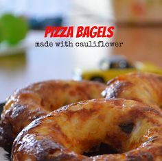 Pizza Bagels » Low Carb » Gluten Free