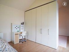 モデルハウスの子ども部屋でフレキシブルな間取り提案 | | 納入事例 | ce-fit セフィット 可動間仕切収納・収納家具の製造・販売 New Room, Tall Cabinet Storage, Small Bedrooms, Furniture, Design, Home Decor, Style, Bedroom, Yurts