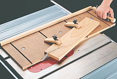 Taper jig. Looks easy to build and safer than most I have seen.