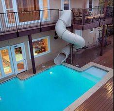 Convenient swimming.