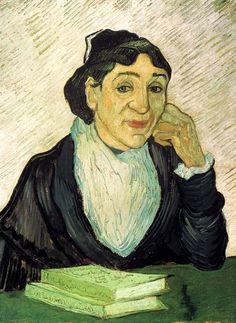 L Arlesienne Madame Ginoux. Vincent van Gogh. Download painting.