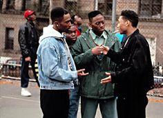 Juice stars Omar Epps, Jermaine Hopkins, Khalil Kain and Tupac Shakur. Tupac Shakur, 2pac, Juice 1992, Movies Showing, Movies And Tv Shows, Juice Movie, Juice Quotes, Omar Epps, Underground Film
