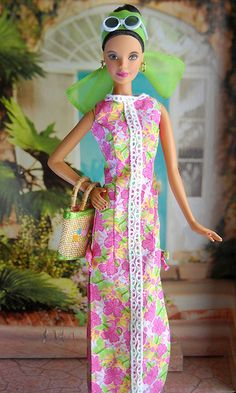 2005 Lilly Pulitzer Barbie® | Designer Collection *DESIGNERS