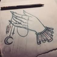 Image result for witch hand tattoo