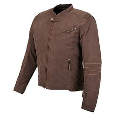 Speed and Strength 'Rust and Redemption' Mens Brown Textile Jacket - LeatherUp.com