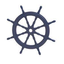 Ship's Wheel Wall Decor