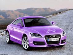 Audi TT Purple