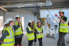 Pupils got their first peek inside the new Gloucester Academy when the Kier Construction site team opened its doors early. The site team held a number of tours giving students the opportunity to get a real feel for their new school building and learn about the construction methods used.