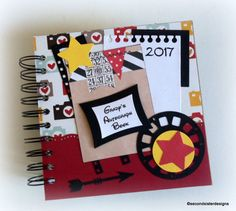 2017 80 pgs PERSONALIZED  Disney Autograph book by secondsisterdesigns
