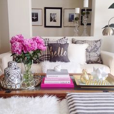 5 Useful Tips When Decorating Your Coffee Table — 2 Ladies & a Chair