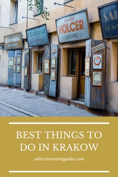 Visiting Krakow and wondering what to do and see? Check out our ultimate guide to plan your trip to Krakow and to see the top things to do and see in Krakow.