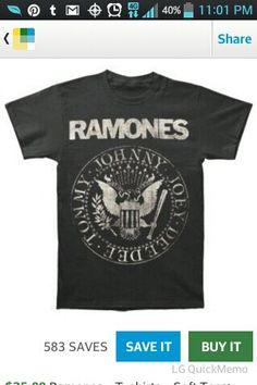 RAMONES shirt i want this