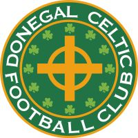 Donegal Celtic of Belfast, Northern Ireland crest. Fifa, British Football, European Football, Soccer Logo, Soccer Teams, Rangers Fc, Team Mascots, Celtic Fc, International Football