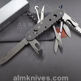 Titanium Custom Victorinox Huntsman Tool Swiss Army Knife 91mm MOD