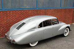 1941 Tatra T-87, a Czech car that influenced Volkswagen so much, the company won an 11-count patent infringement against them.