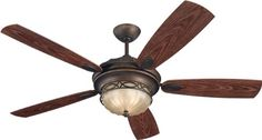 Ceiling Fans Decoration | Monte Carlo 5ED56RBD Wet Location Edwardian ** Want to know more, click on the image. Note:It is Affiliate Link to Amazon.