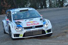 WRC 2014 MONTE CARLO - La VW Polo de LATVALA