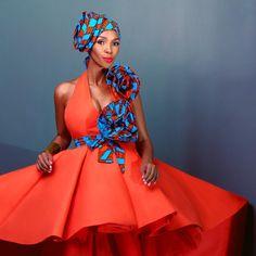 African Print Fashion, Ethnic Fashion, Fashion Prints, African Prints, African Attire, African Wear, African Women, Turbans, Dress Patterns
