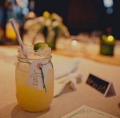 Mason Jar Margaritas... margaritas are easily our drink