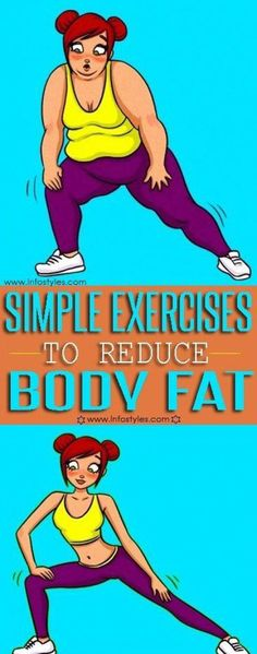 "9 Simple Exercises to Reduce Body Fat 9 Simple Exercises to Reduce Body Fat ""Fat loss is a serious problem for more than of people. In terms of fat loss, diet and exercise go hand in hand. Causes Of Cellulite, Cellulite Remedies, Reduce Cellulite, Cellulite Cream, Anti Cellulite, Cellulite Scrub, Reduce Body Fat, Reduce Weight, Lose Weight"