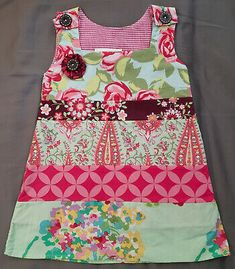 2T Hopscotch Designs Boutique Toddler Girl Dress Sleeveless Designer Fabrics EUC #fashion #clothing #shoes #accessories #baby #babytoddlerclothing (ebay link) Toddler Girl Dresses, Baby & Toddler Clothing, Girls Dresses, Summer Dresses, Hopscotch, Fabric Design, Fabrics, Boutique, Link