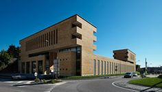 Building Fuoriporta, Mendrisio Switzerland | Mario Botta Architetti | Photo © Enrico Cano