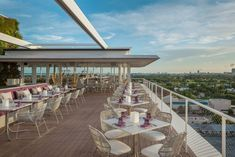 Find the perfect perch to enjoy a summer cocktail while taking in incredible views at these extraordinary rooftop restaurants and bars around the world
