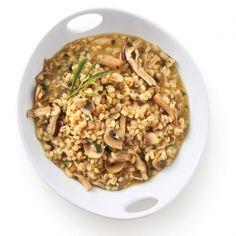 Alliant produit céréalier et légumes, ce risotto se fait l'escorte parfaite des viandes, volailles et poissons!