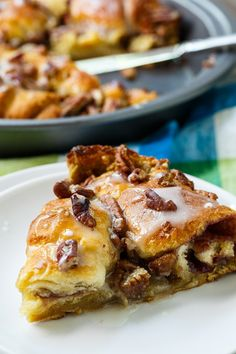 Crescent Roll Coffee Cake #crescentroll #coffeecake
